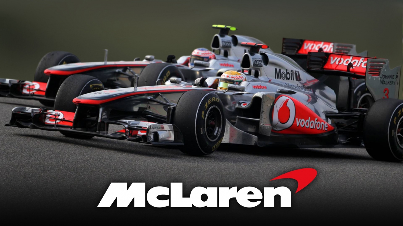 Get F1 Mclaren Wallpaper 1366X768  Images