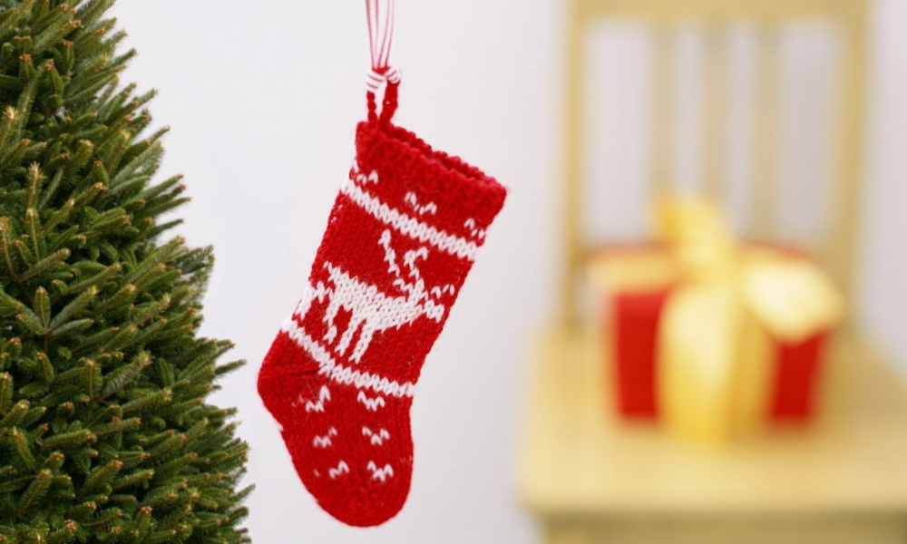 Media de lana por navidad - 1000x600
