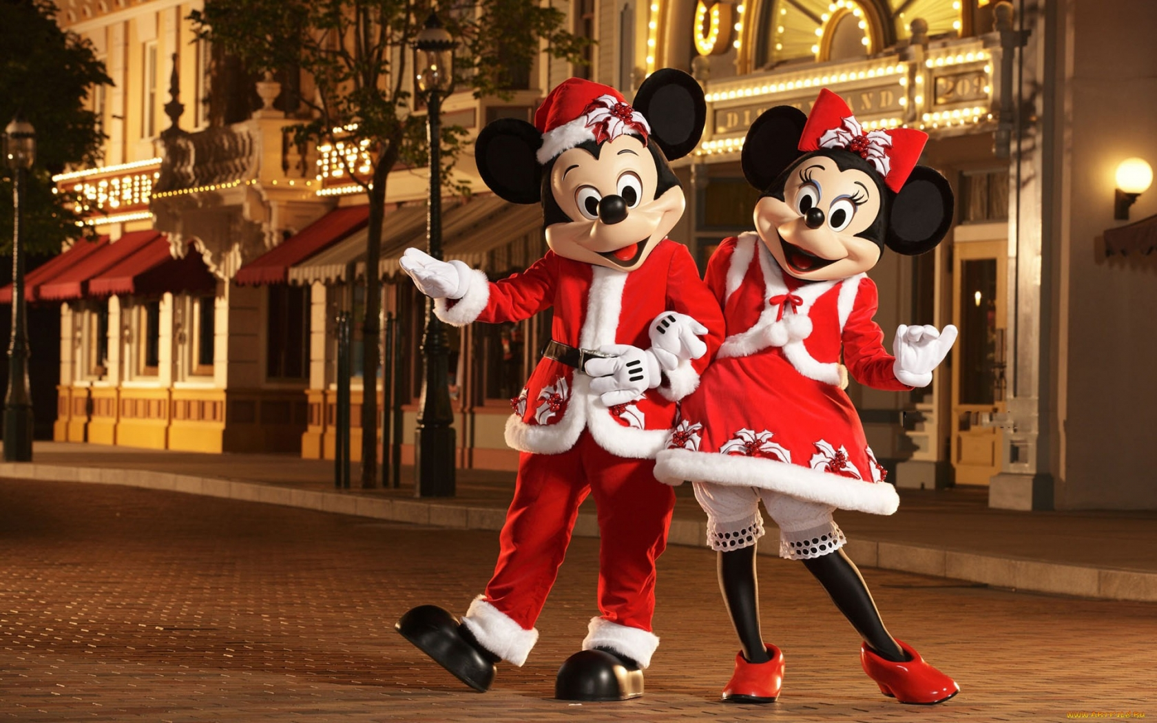 Micky y Mini Mouse - 1680x1050