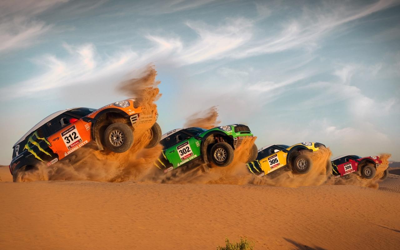 Mini All4 Racing R60 - 1280x800