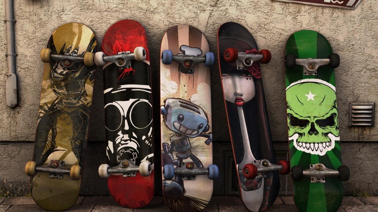 Modelos de tablas de skate - 1280x720