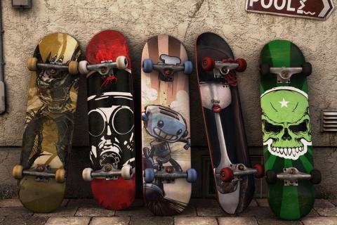Modelos de tablas de skate - 480x320
