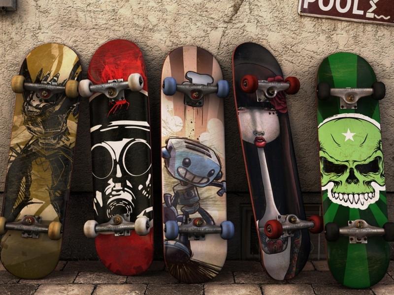 Modelos de tablas de skate - 800x600