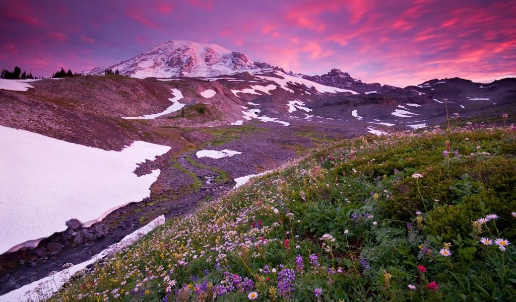 Montañas y nevados - 1024x600