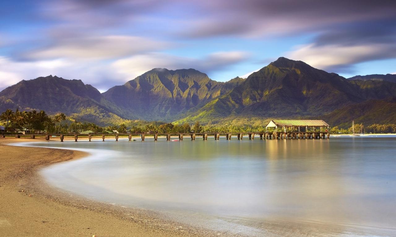 Montañas y playas - 1280x768