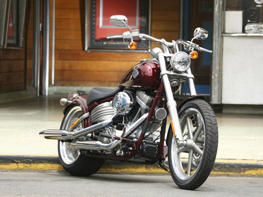 Moto Harley Davidson Hd 1024x768