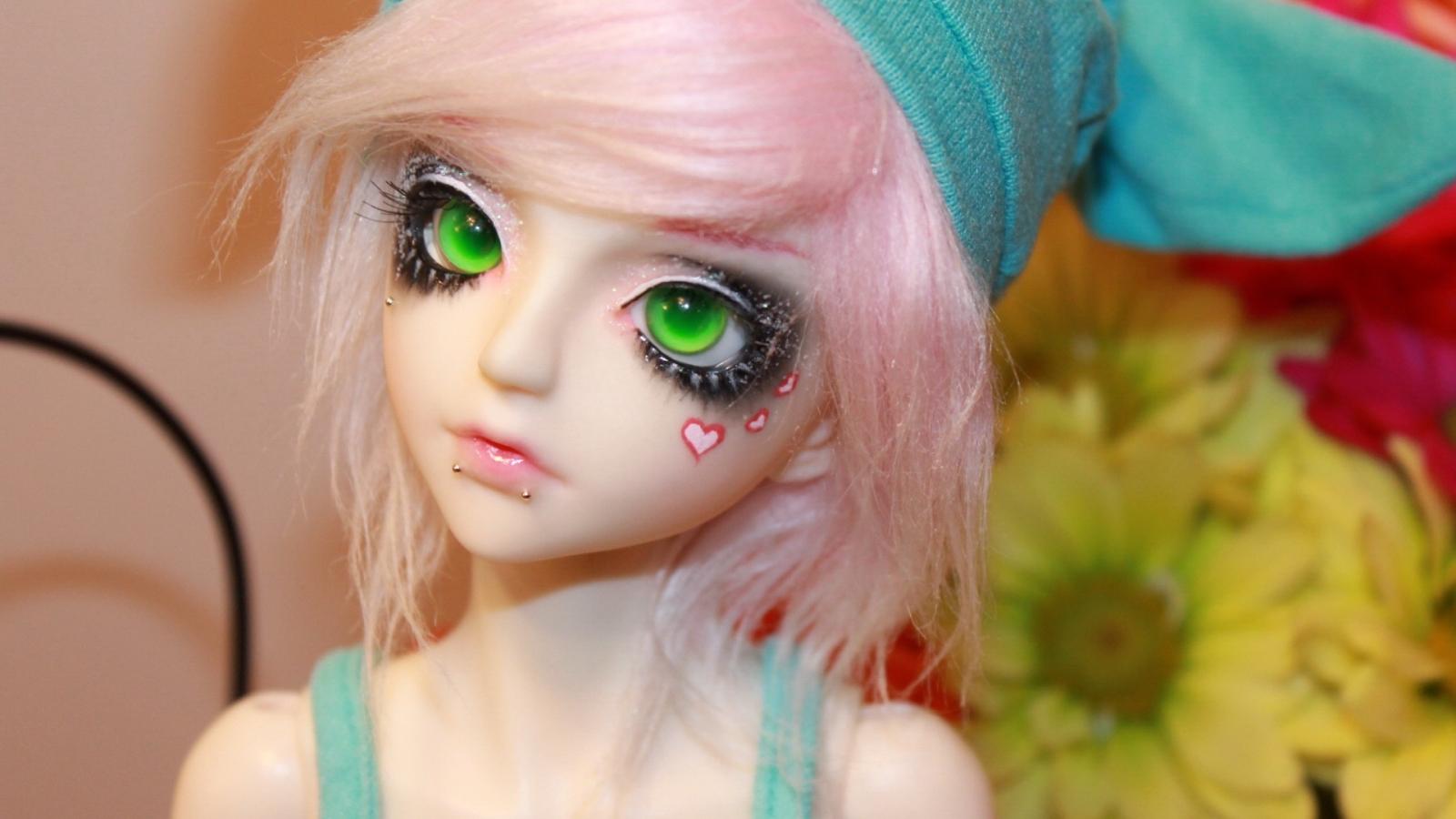 Muñeca emo - 1600x900