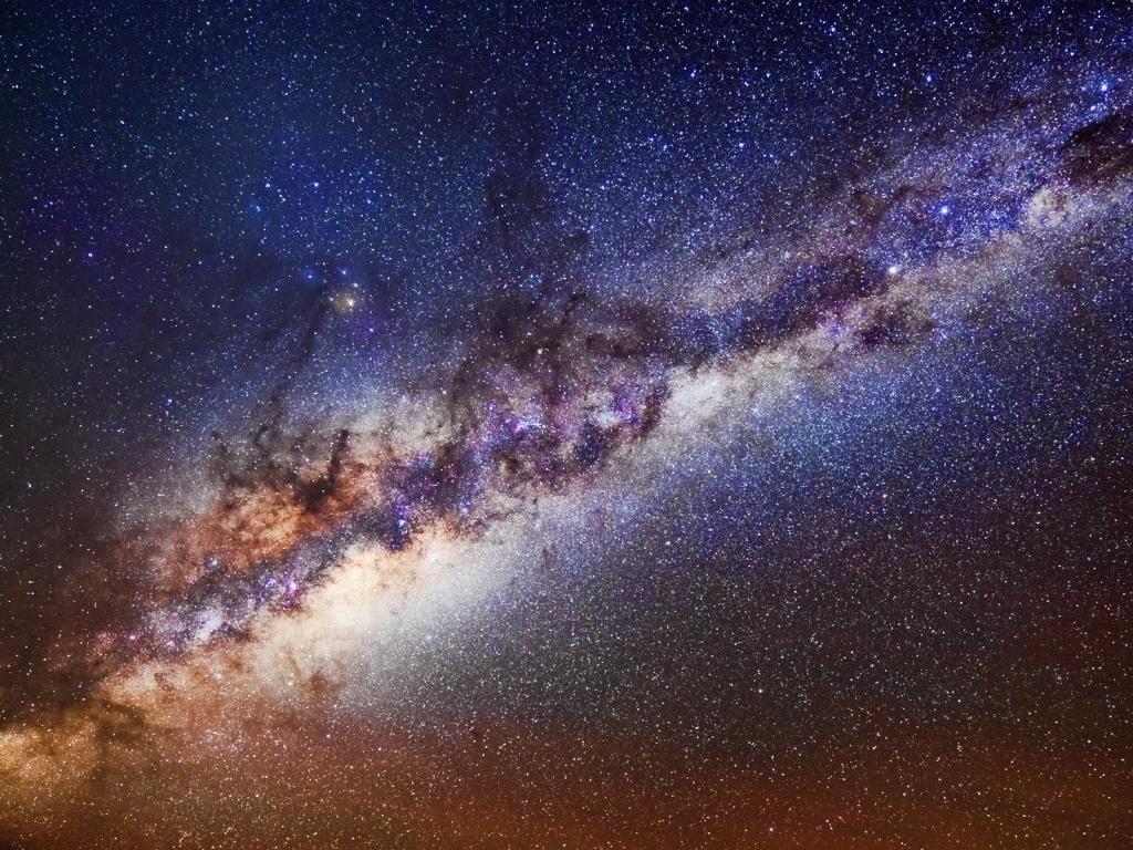 Nebulosas y el espacio - 1024x768
