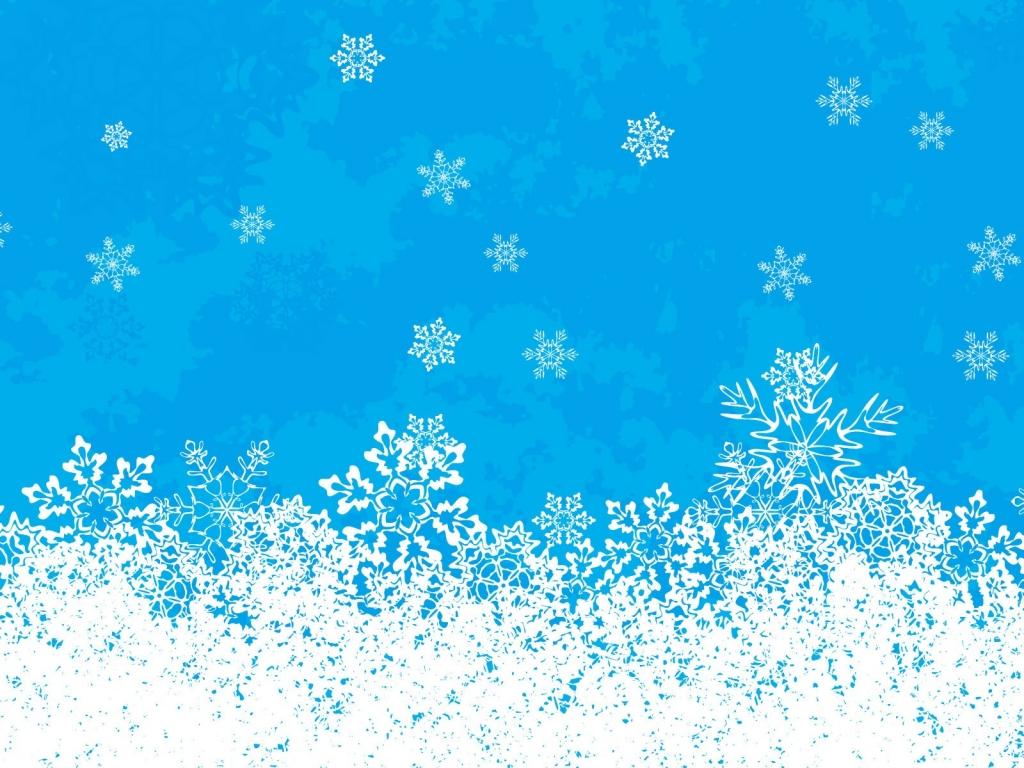 Nieve en navidad - 1024x768