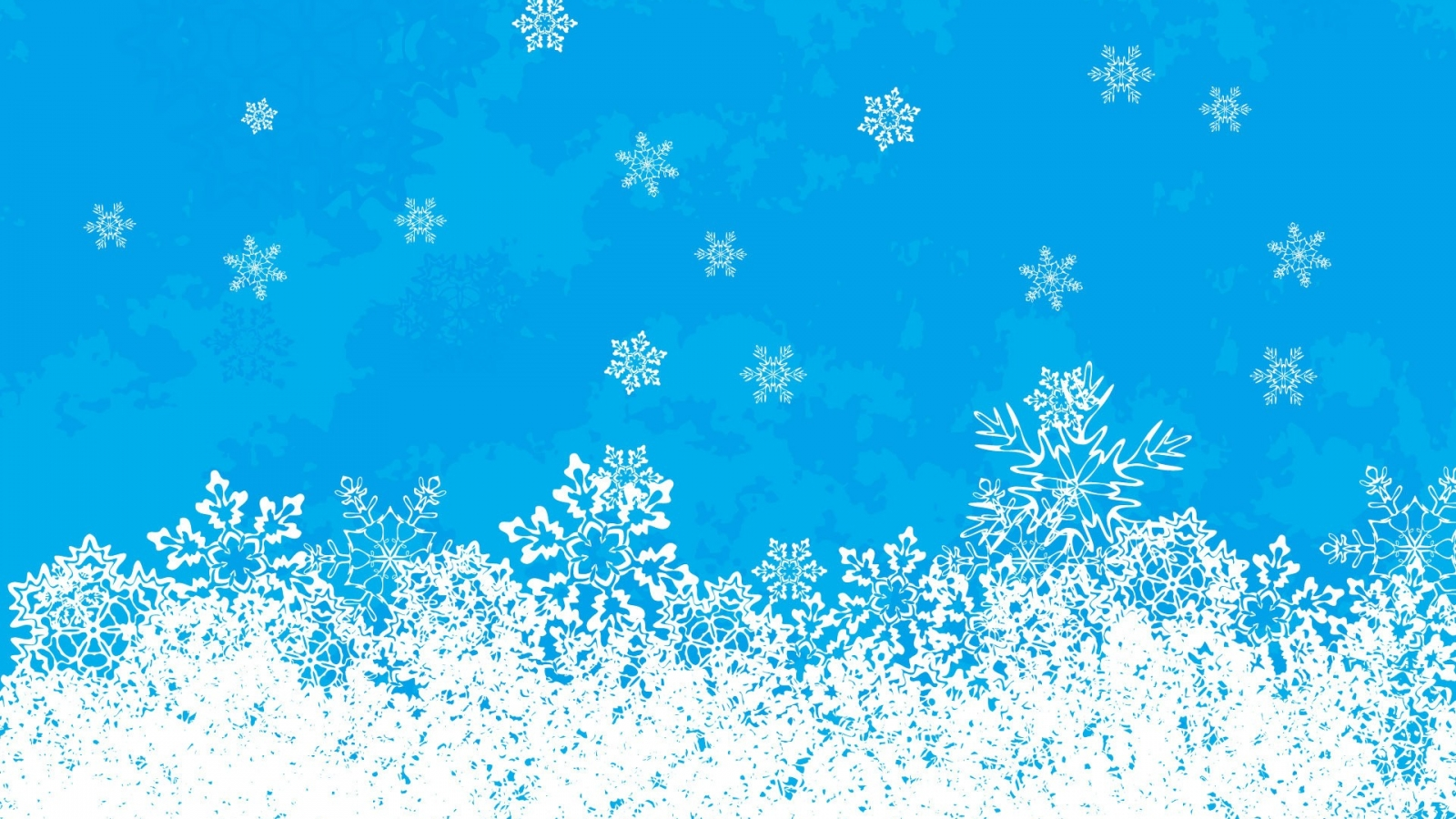Nieve en navidad - 1600x900