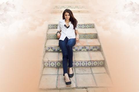 Nina Dobrev fashion - 480x320
