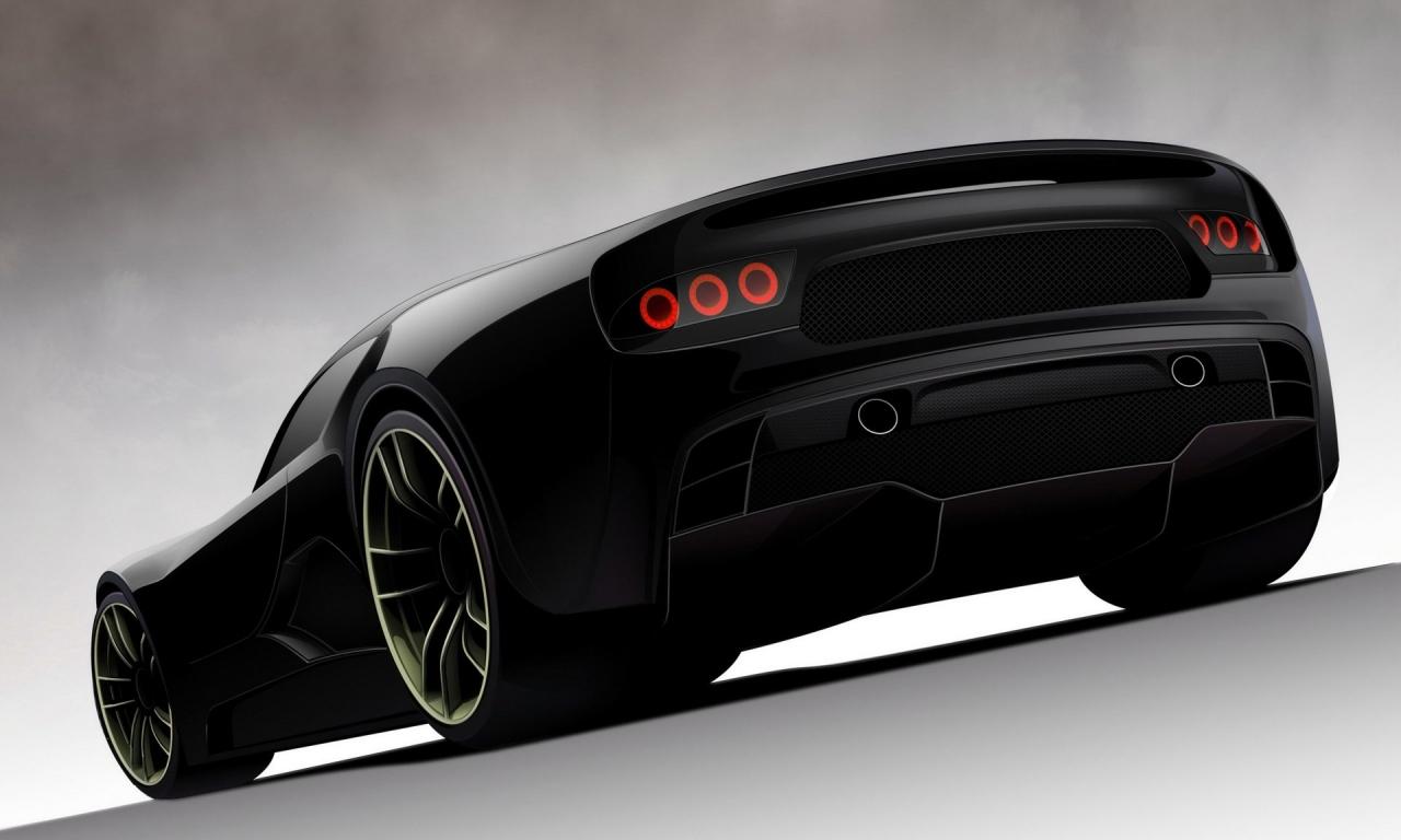 Nuevo concept de auto - 1280x768