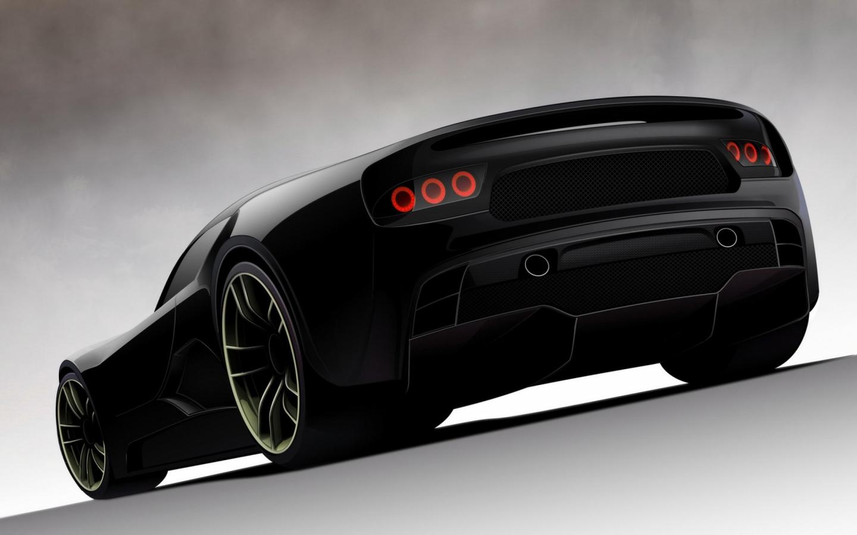 Nuevo concept de auto - 1440x900