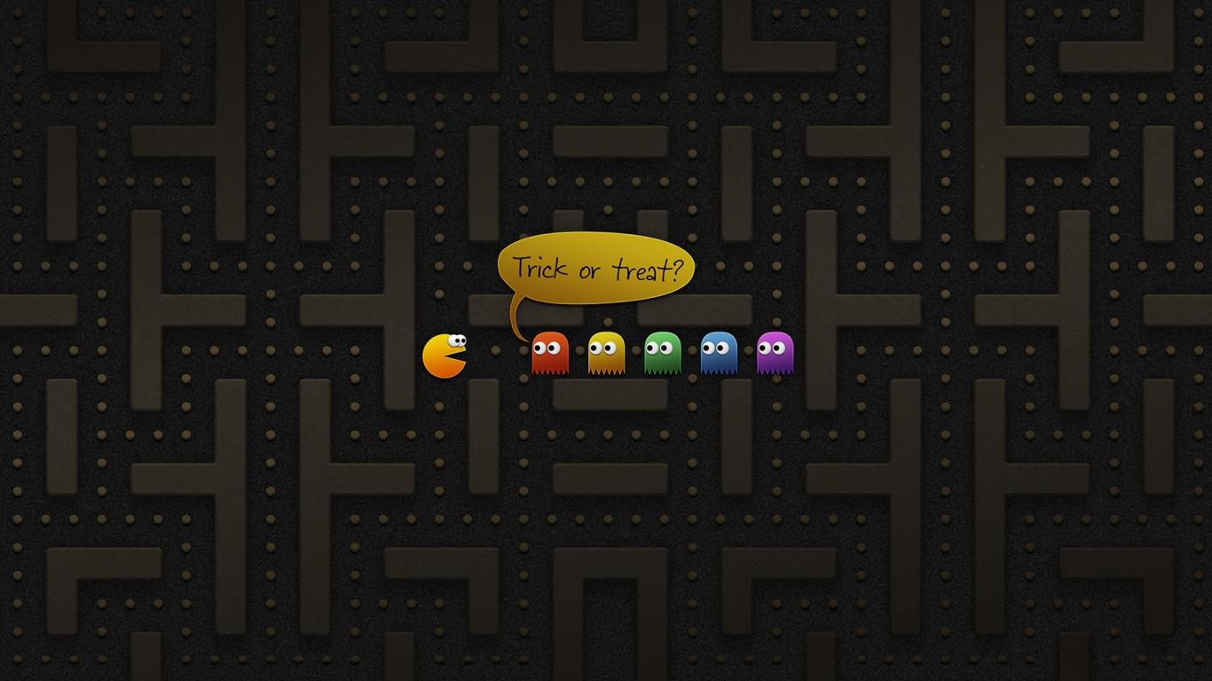 pacman juego hd 1366x768 imagenes wallpapers gratis
