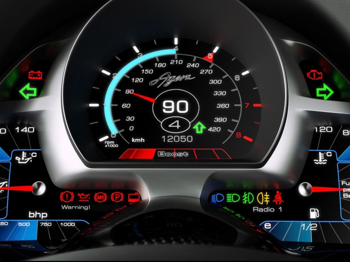 Panel de auto Koenigsegg Agera - 1152x864