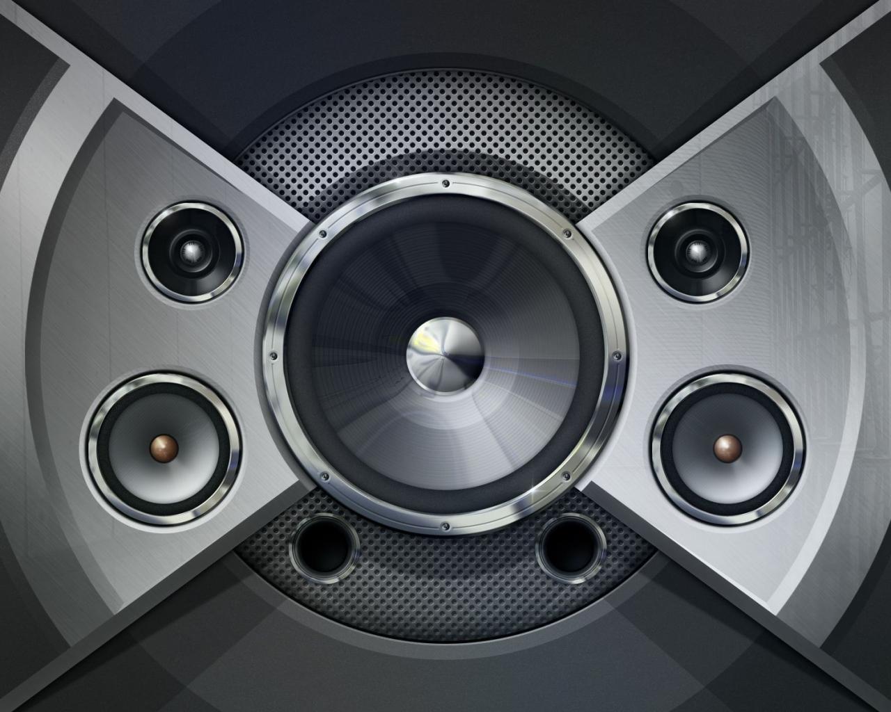 Diseño de un parlante - 1280x1024