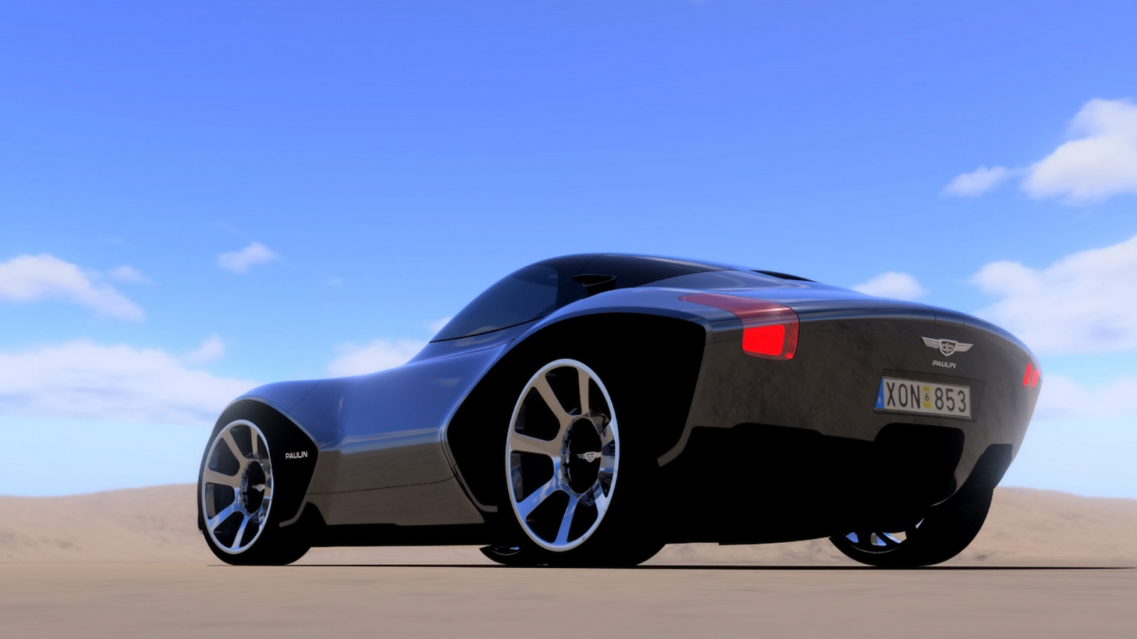 Fondos De Vehiculos: Paulin VR Hd 1600x900