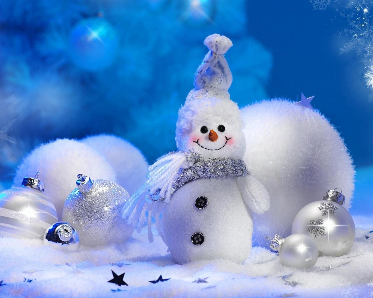 Peluche de navidad - 1280x1024