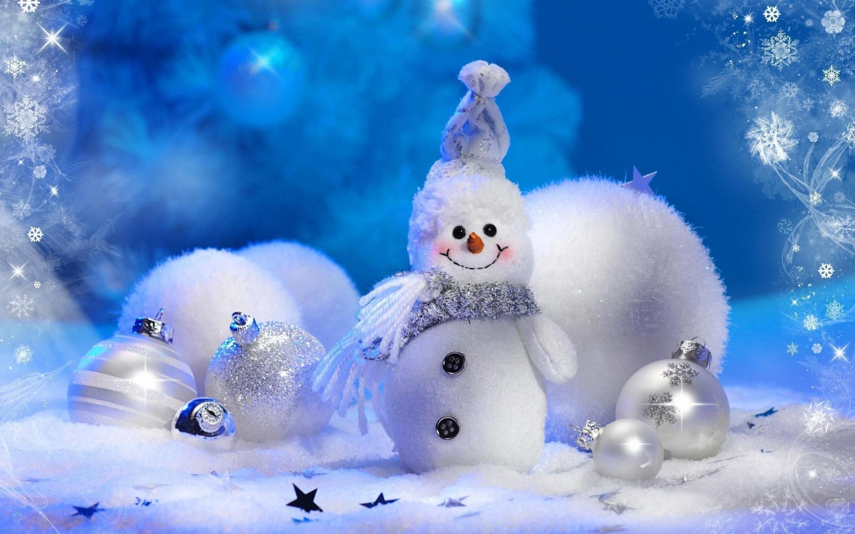 Peluche de navidad - 1680x1050