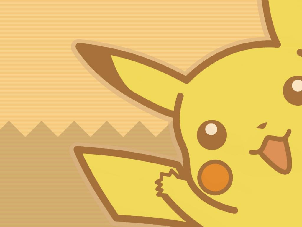 Pikachu Pokemon - 1024x768