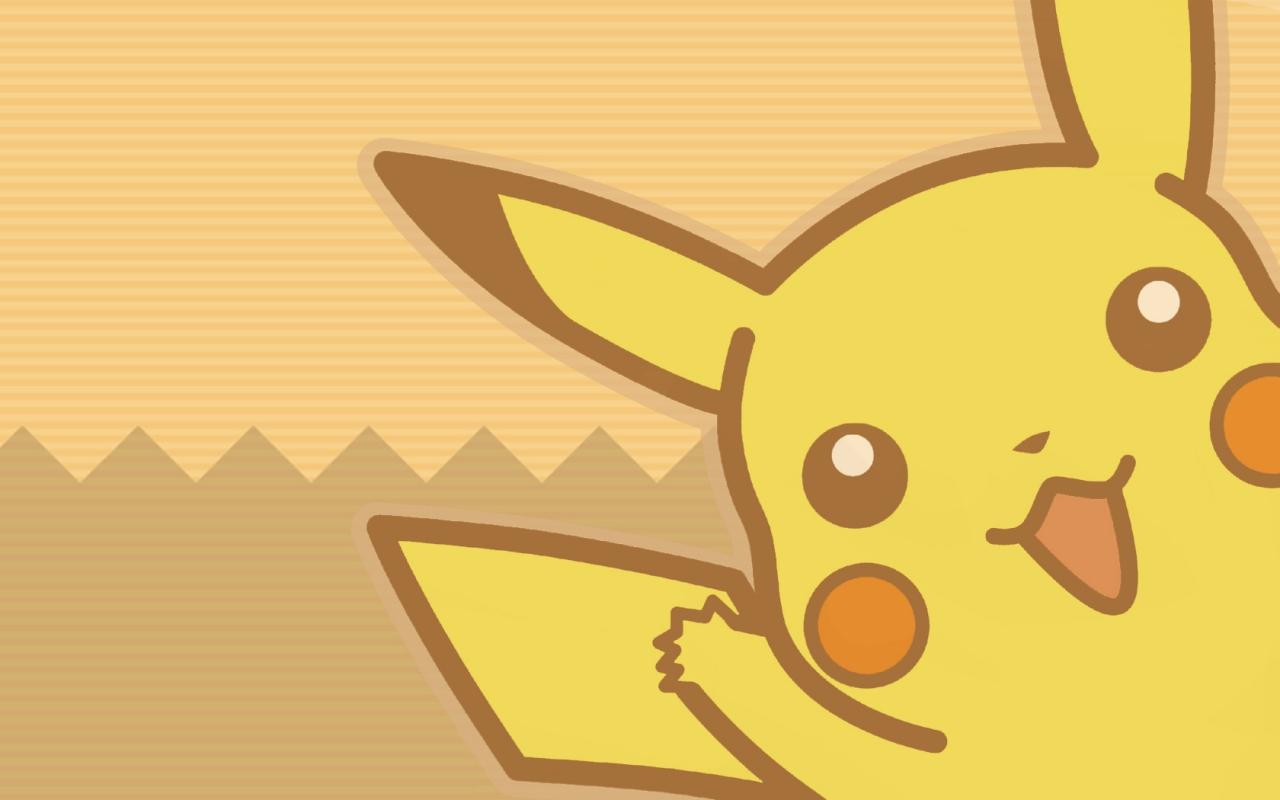 Pikachu Pokemon - 1280x800