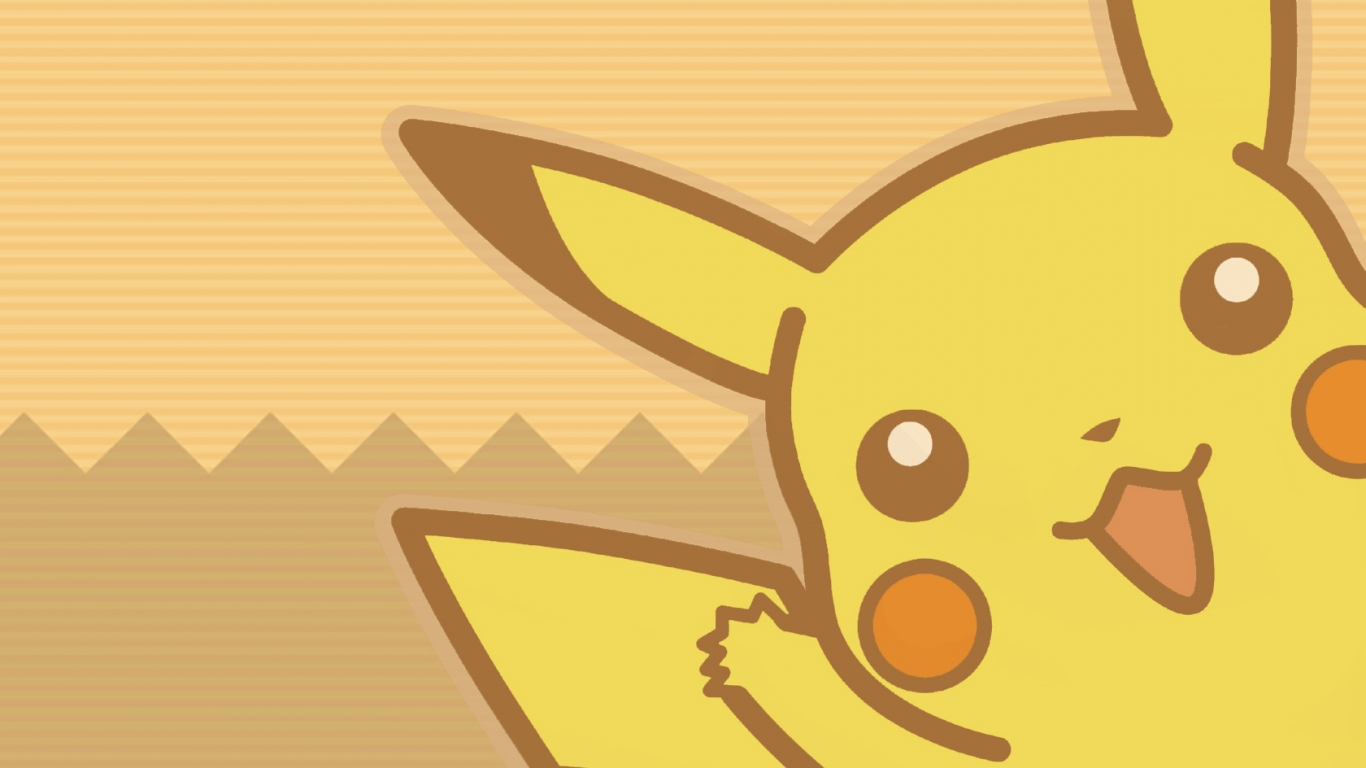 Pikachu pokemon hd 1366x768 imagenes wallpapers gratis for Wallpapers animados hd
