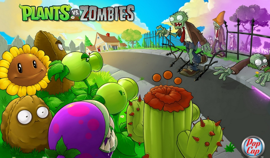 Plants vs. Zombies - 1024x600