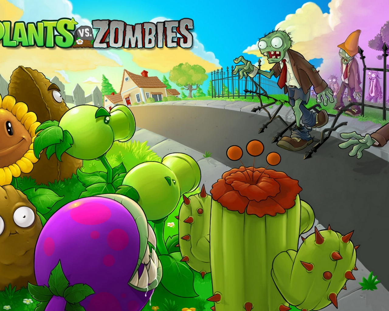 Plants vs. Zombies - 1280x1024