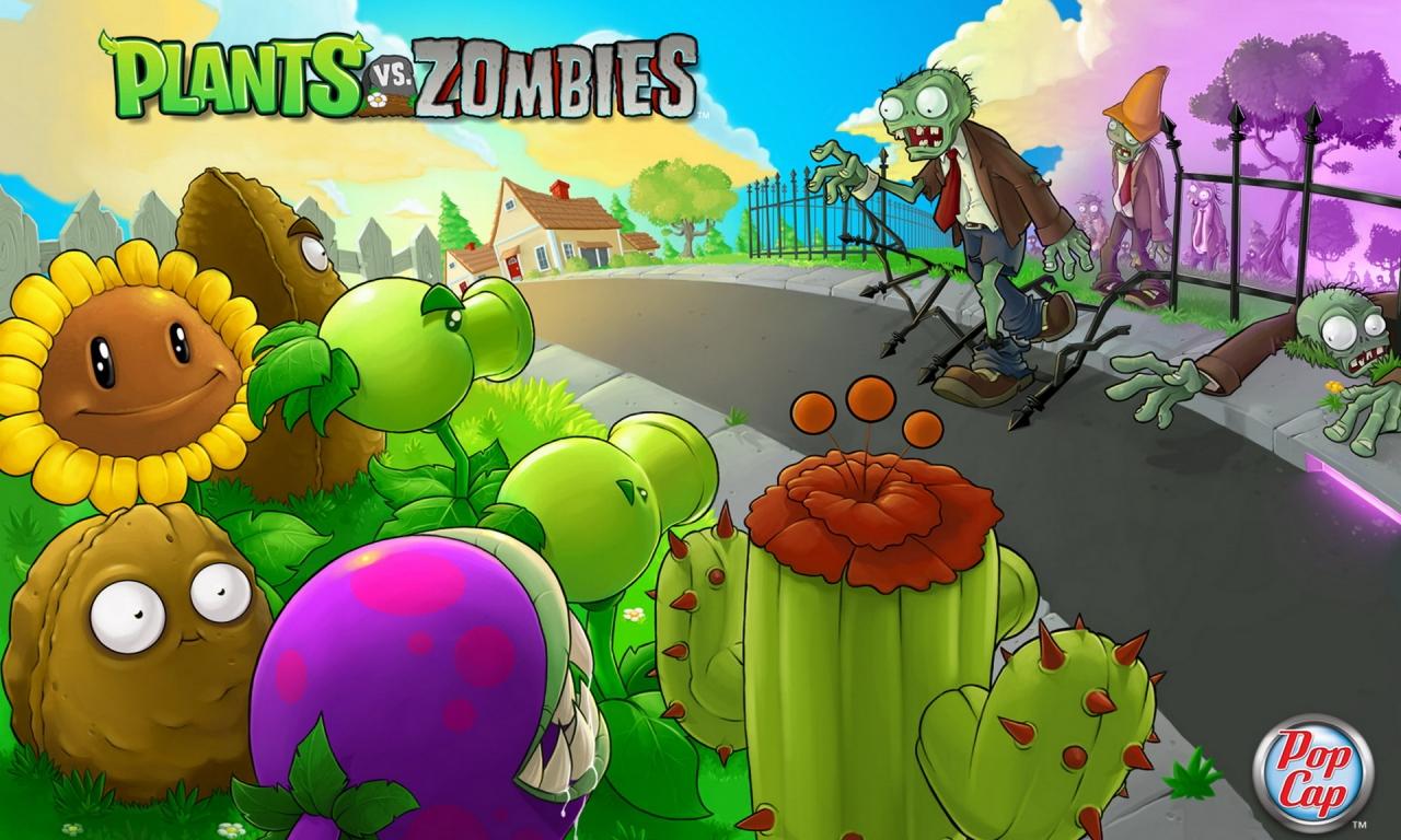 Plants vs. Zombies - 1280x768
