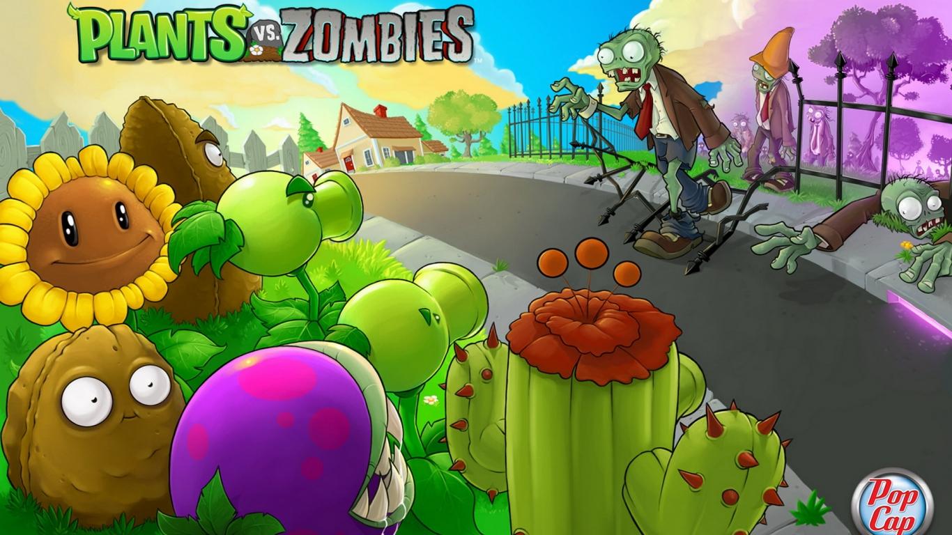 Plants vs. Zombies - 1366x768
