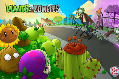 Plants vs. Zombies - 480x320