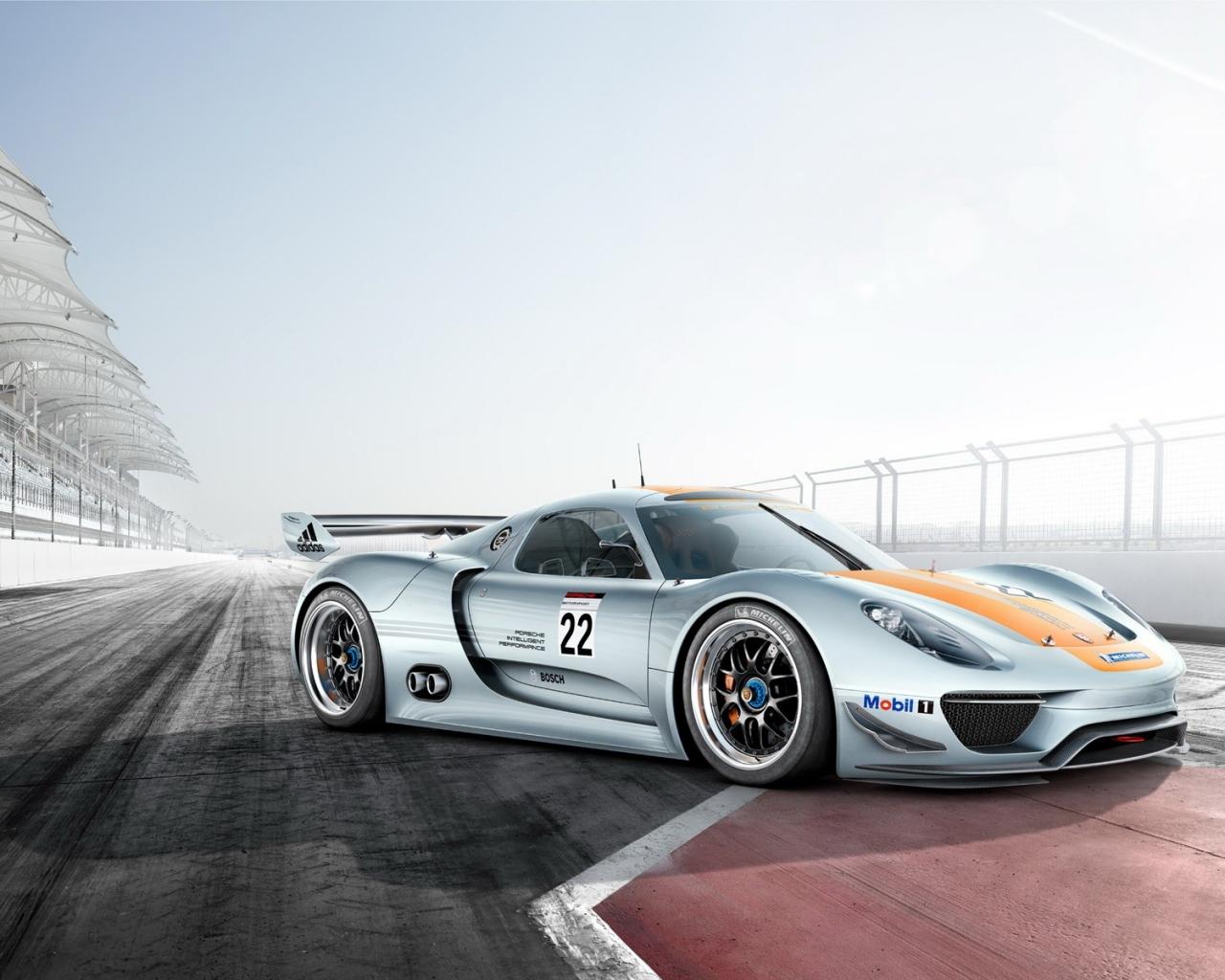 Fondos De Pantalla Vehículo Porsche Show De Net: Porsche 918 Hd 1280x1024
