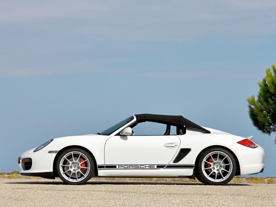 Porsche Boxter Spyder - 1152x864