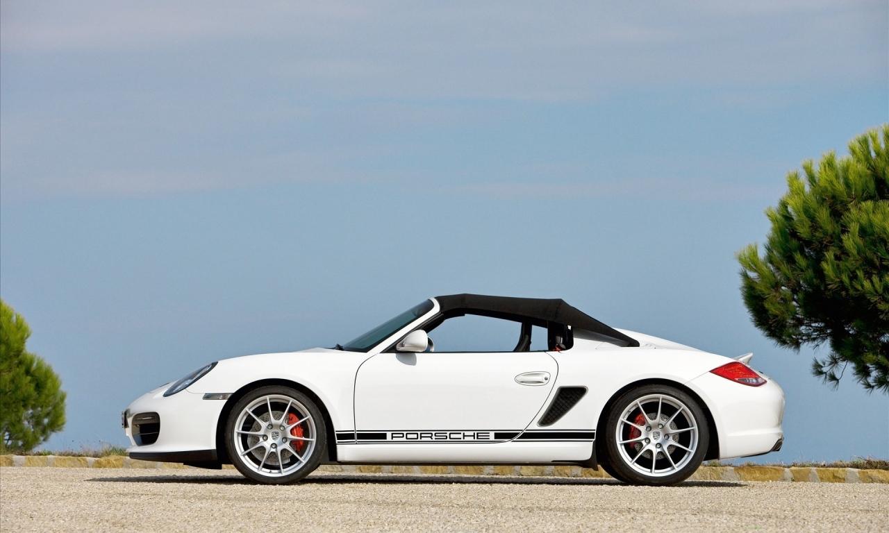 Porsche Boxter Spyder - 1280x768