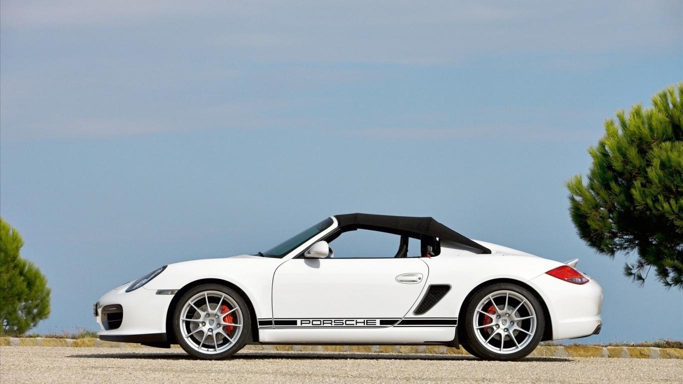 Porsche Boxter Spyder - 1366x768