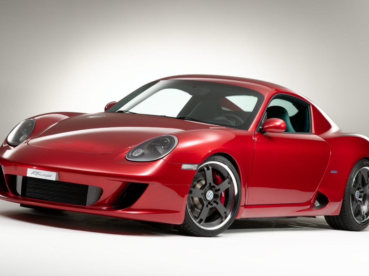 Porsche Cayman rojo - 1280x960