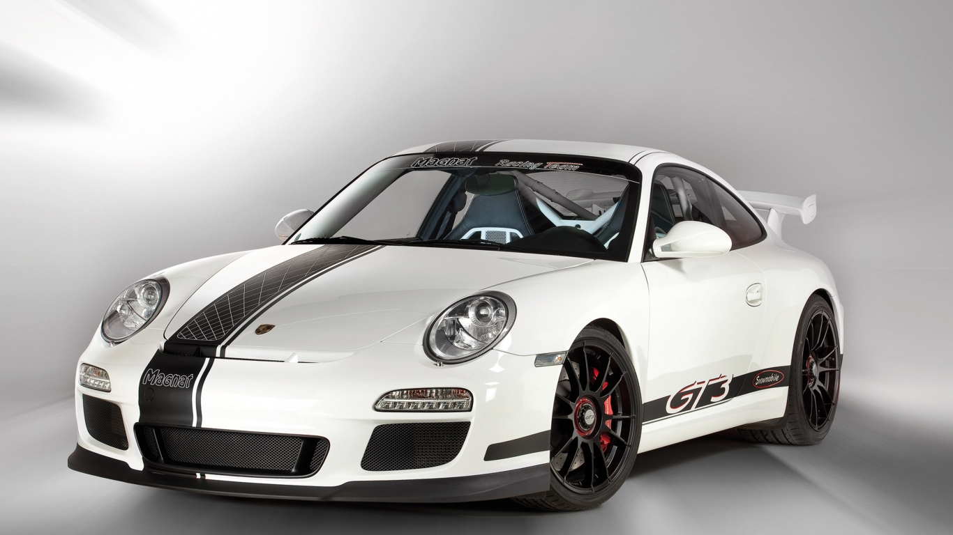 Fondos De Pantalla Vehículo Porsche Show De Net: Porsche GT3 Hd 1366x768