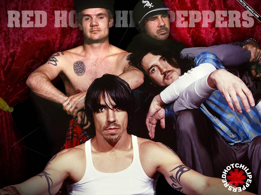 Red Hot Chilli Pepers - 1024x768