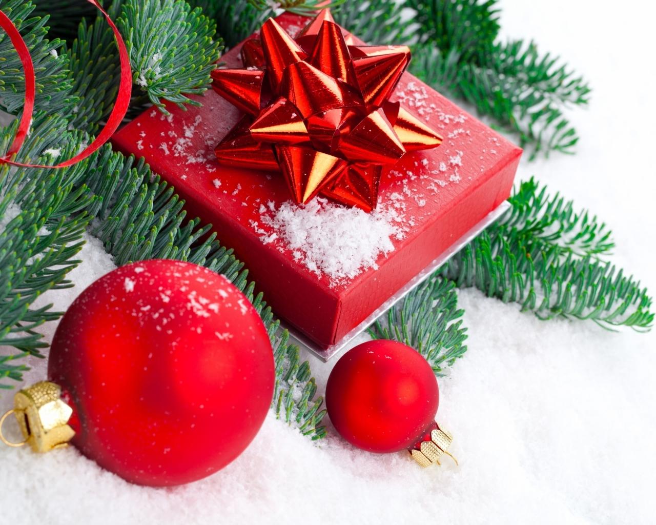Regalos y navidad - 1280x1024