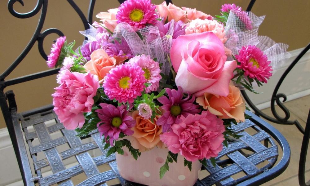 Rosas y flores hermosas - 1000x600