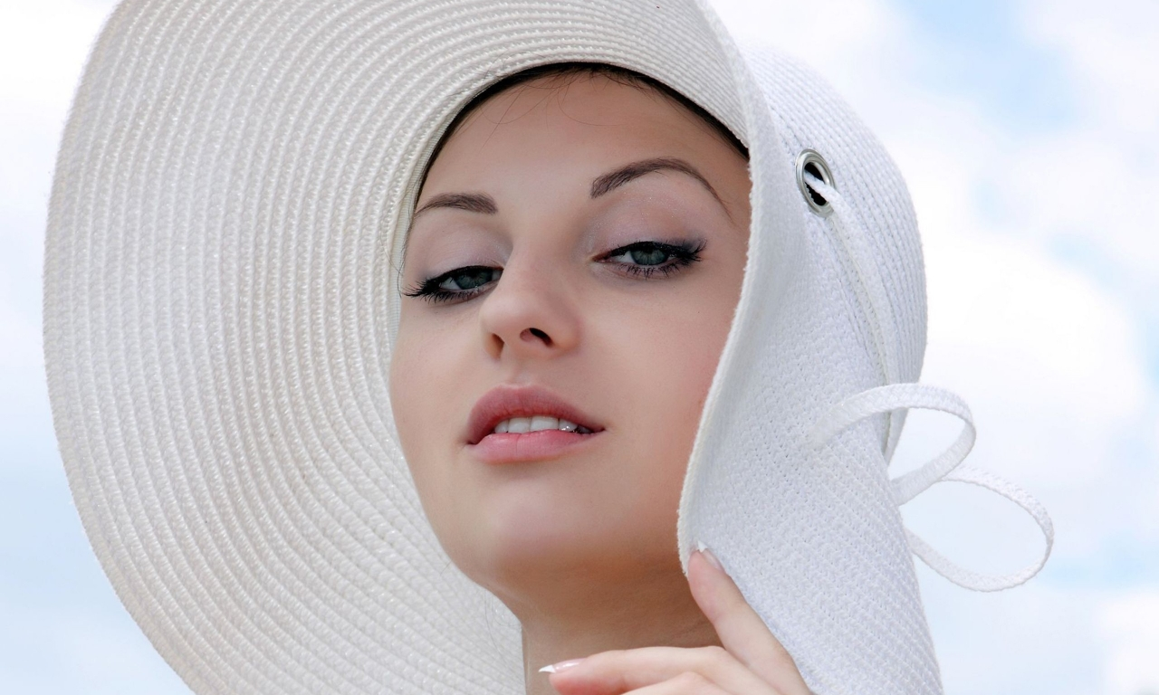 Rostro hermoso - 1280x768