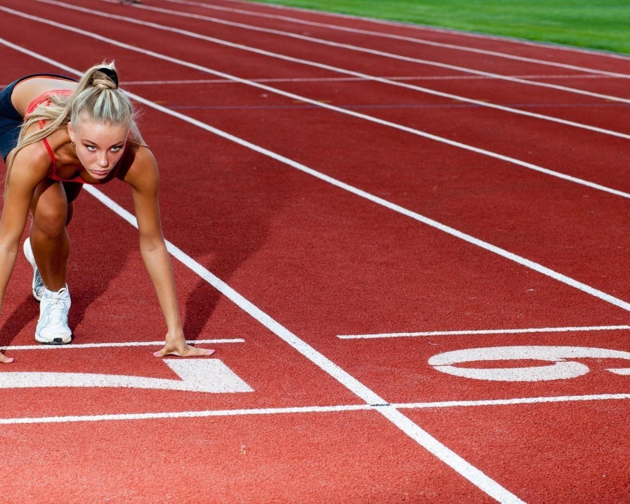 Rubias en atletismo - 1280x1024