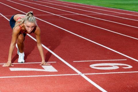 Rubias en atletismo - 480x320