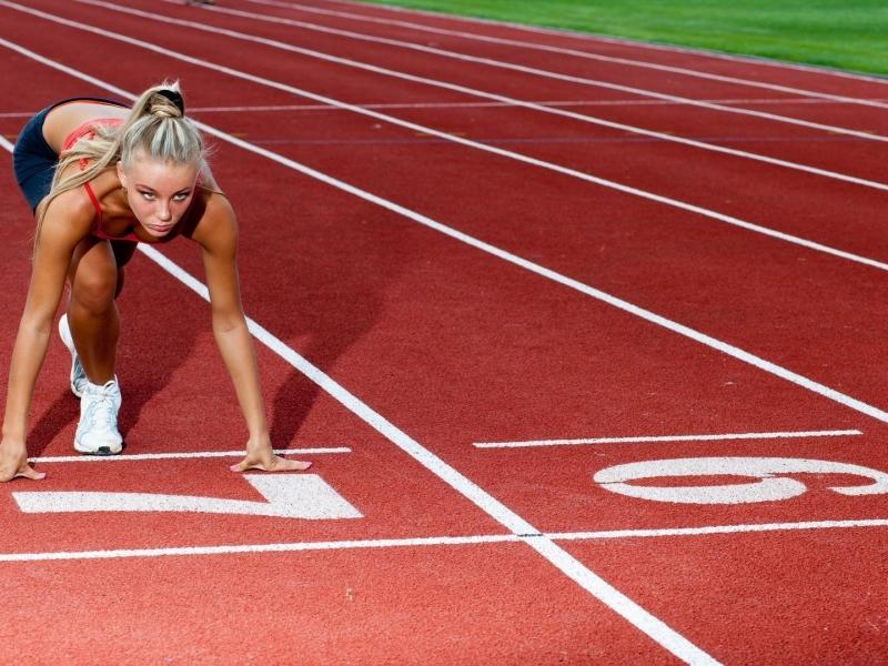 Rubias en atletismo - 800x600