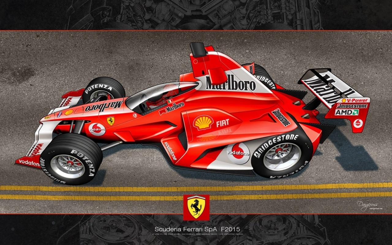 Scuderia Ferrari SpA 2015 - 1280x800