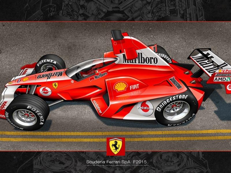 Scuderia Ferrari SpA 2015 - 800x600