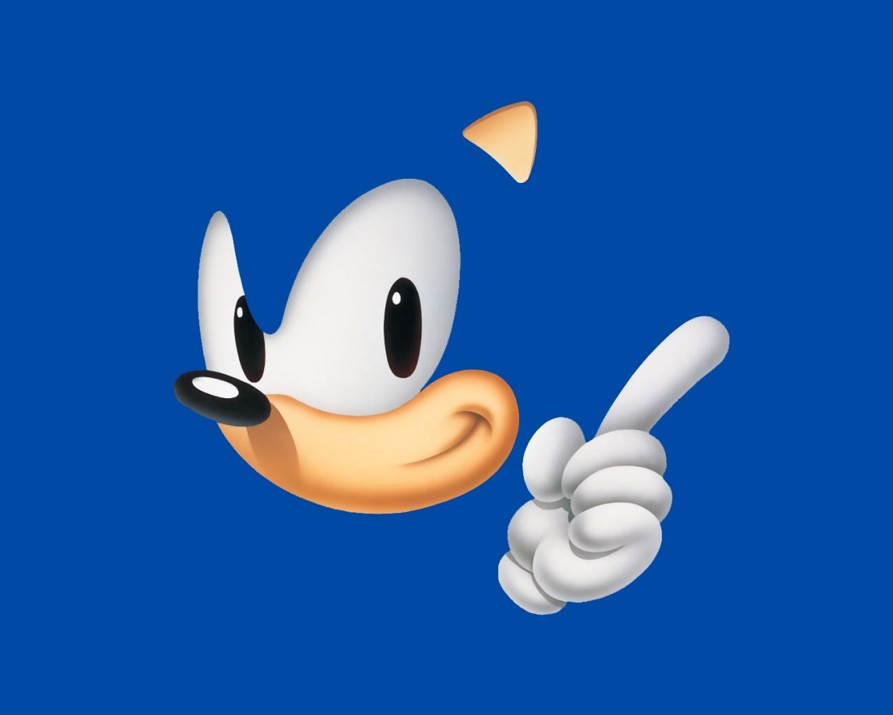 Sonic el erizo - 1280x1024