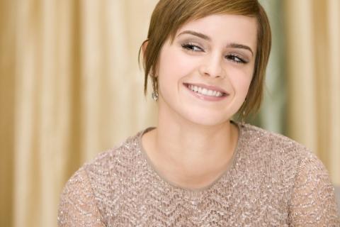 Sonrisa de Emma Watson - 480x320