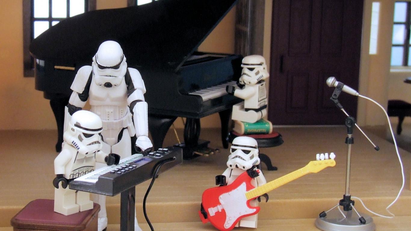 Star Wars Rock - 1366x768