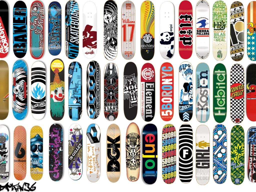 Diseño de tablas de skate - 1024x768